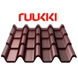 Металлочерепица Ruukki 40 Armorium purex / пурекс