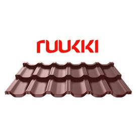 Модульная черепица Ruukki 40 Finnera покрытие Purex